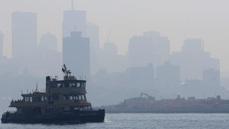 Thành phố Sydney của Australia chìm trong khói bụi Ảnh 1