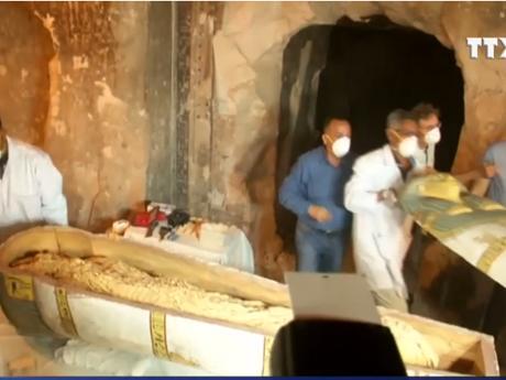 Phát hiện xác ướp một phụ nữ Ai Cập hơn 3.000 năm tuổi ảnh 1