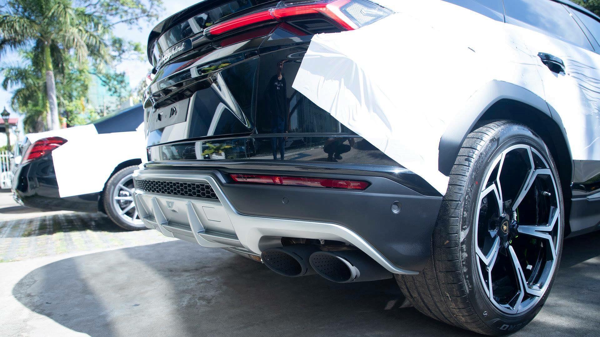 Cận cảnh 'siêu SUV' Lamborghini Urus thứ ba đặt chân đến Campuchia Ảnh 5