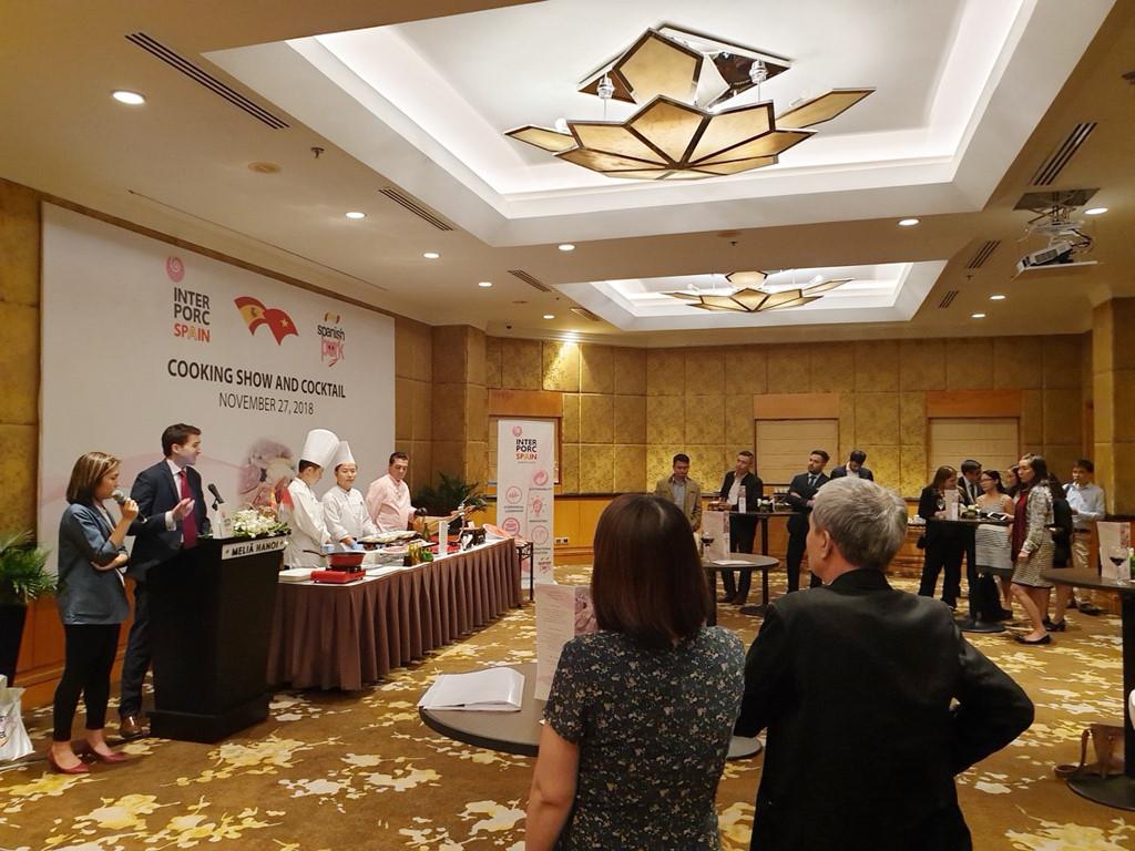 Thịt heo Tây Ban Nha bắt đầu công cuộc tấn công thị trường Việt Ảnh 1