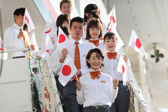 Tàu Nhật Bản chở 326 thanh niên ưu tú đến TP HCM Ảnh 4