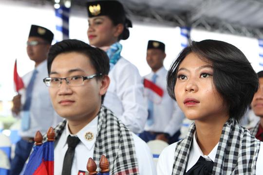 Tàu Nhật Bản chở 326 thanh niên ưu tú đến TP HCM Ảnh 9