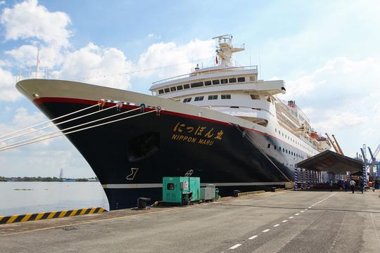 Tàu Nhật Bản chở 326 thanh niên ưu tú đến TP HCM Ảnh 1