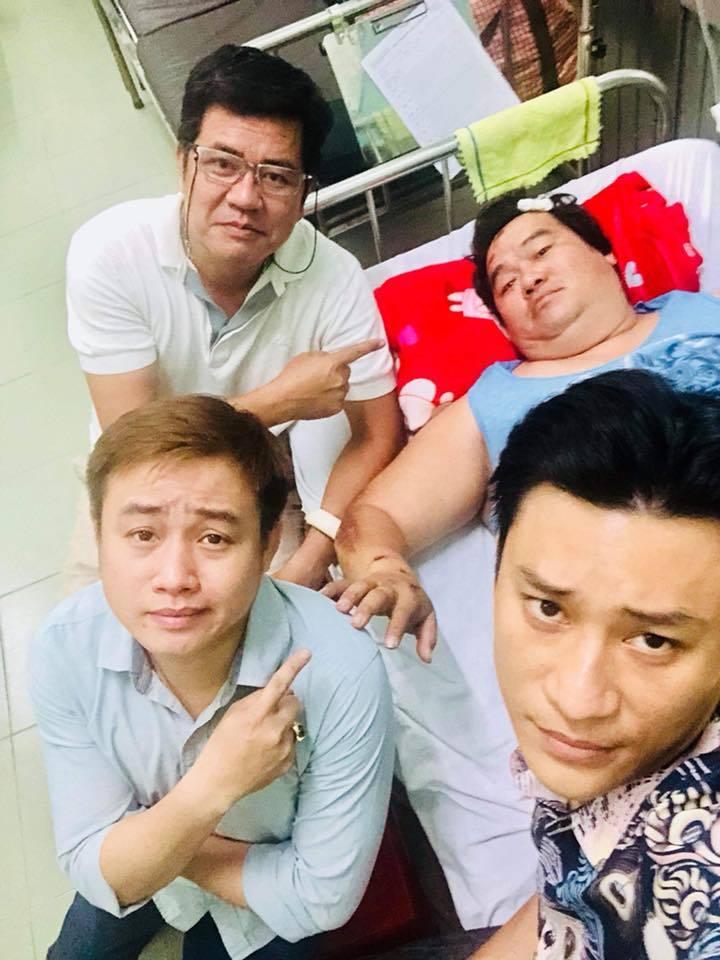 Nghệ sĩ hài Hoàng Mập bị tông xe phải nhập viện Ảnh 2
