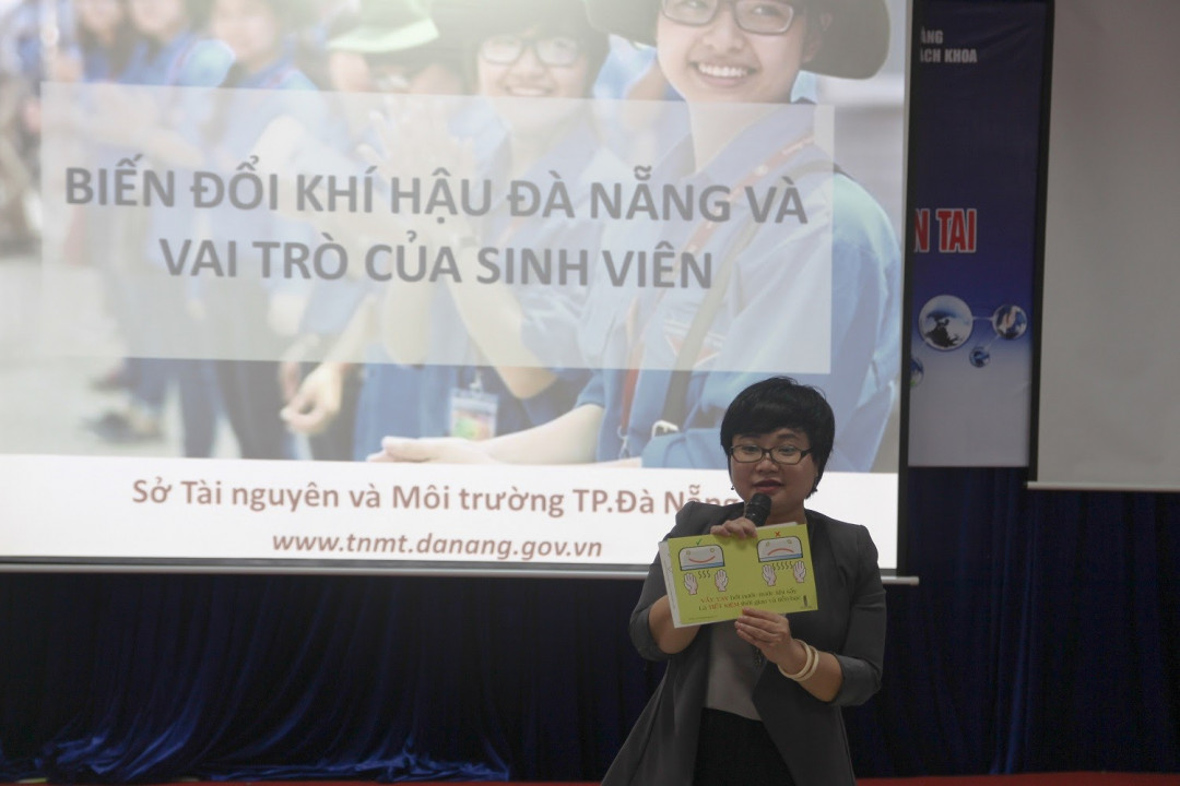 Đà Nẵng: Sinh viên là những 'đại sứ' cho công tác tuyên truyền về BĐKH Ảnh 2