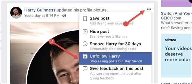 Bỏ theo dõi người khác trên Facebook để sống hạnh phúc hơn Ảnh 1