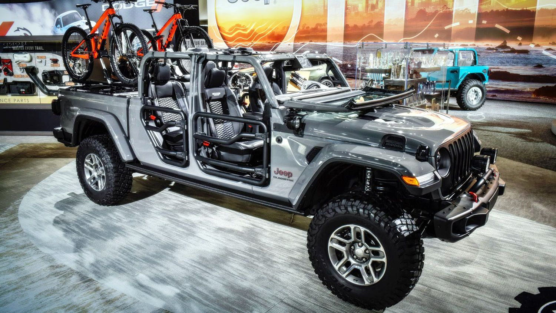 Lạ lẫm với 'lính chiến' bán tải Jeep Gladiator 2020 Ảnh 4