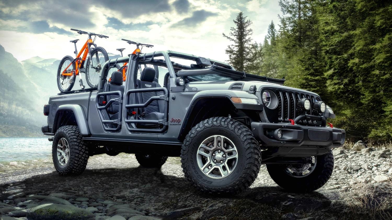 Lạ lẫm với 'lính chiến' bán tải Jeep Gladiator 2020 Ảnh 1