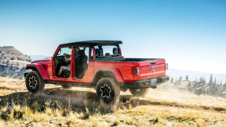 Lạ lẫm với 'lính chiến' bán tải Jeep Gladiator 2020 Ảnh 8