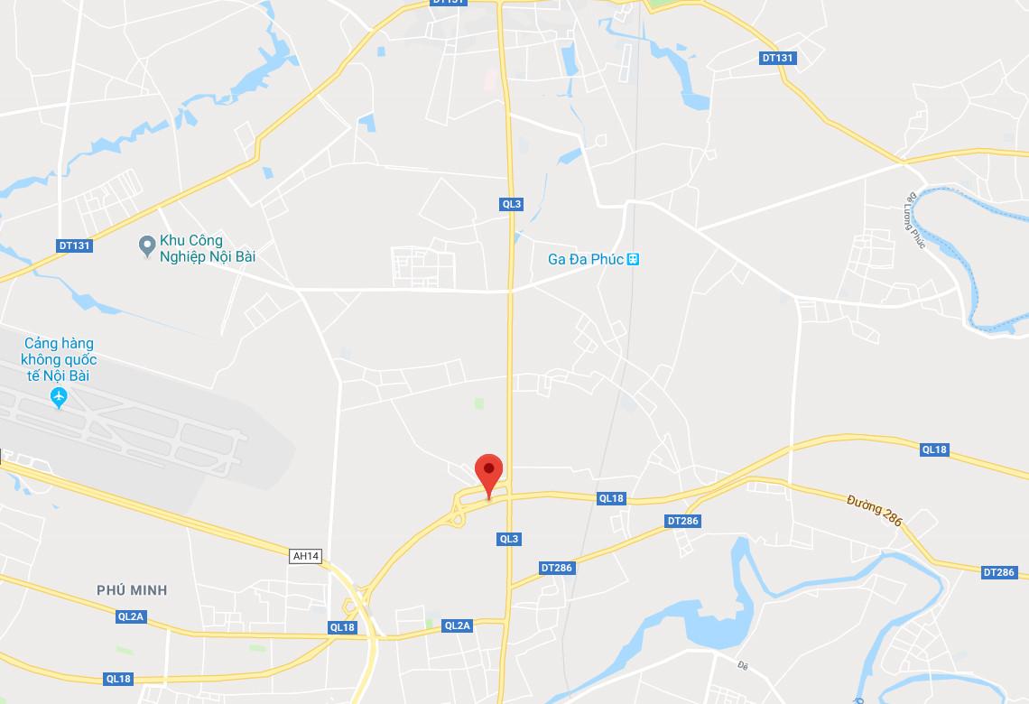 4 ôtô tông liên hoàn trên đường ra sân bay Nội Bài Ảnh 3