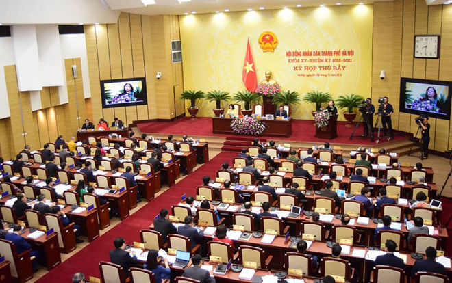 HĐND TP Hà Nội tiến hành lấy phiếu tín nhiệm: Lá phiếu không chỉ của cá nhân đại biểu mà của cộng đồng, của cử tri Ảnh 1