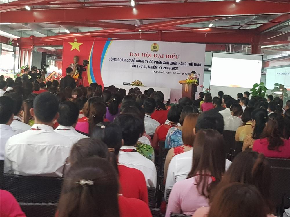 Công ty CP SX hàng thể thao MXP chăm lo tốt cho 15 nghìn công nhân Ảnh 3