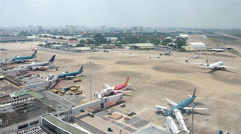 Giảm cự lý tối thiểu vùng trời Tân Sơn Nhất để giảm tắc hàng không Ảnh 1