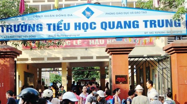 Cục Nhà giáo yêu cầu xác minh vụ cô giáo phạt tát học sinh ở Hà Nội ảnh 1