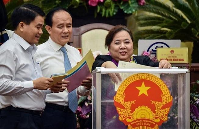 TP.Hà Nội công bố kết quả lấy phiếu tín nhiệm Ảnh 1