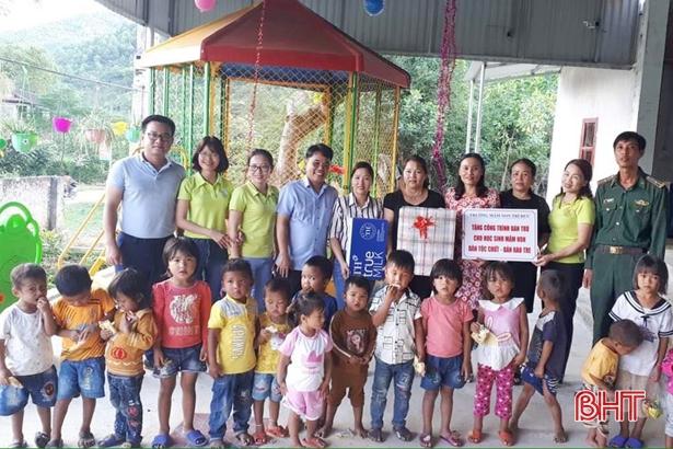 Trường Mầm non Trí Đức tặng công trình bán trú cho học sinh mầm non dân tộc Chứt Ảnh 1