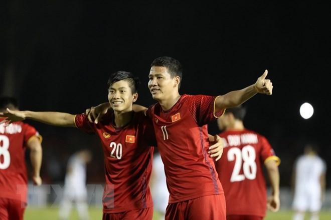 Yêu cầu chấm dứt sử dụng trái phép hình ảnh tuyển bóng đá Việt Nam Ảnh 1