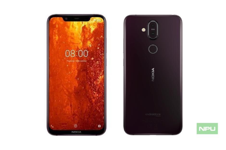 Lộ diện 'nhan sắc' Nokia 8.1 Ảnh 1