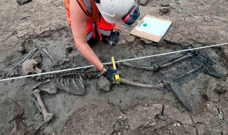 Tìm thấy bộ xương 500 năm tuổi Ảnh 1