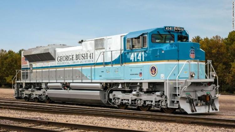 Tại sao di hài cố Tổng thống George H.W. Bush được đưa về nơi an táng bằng tàu hỏa? Ảnh 3