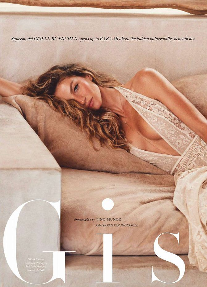Siêu mẫu đắt giá Gisele Bundchen khoe dáng tuyệt mỹ trên tạp chí Ảnh 8