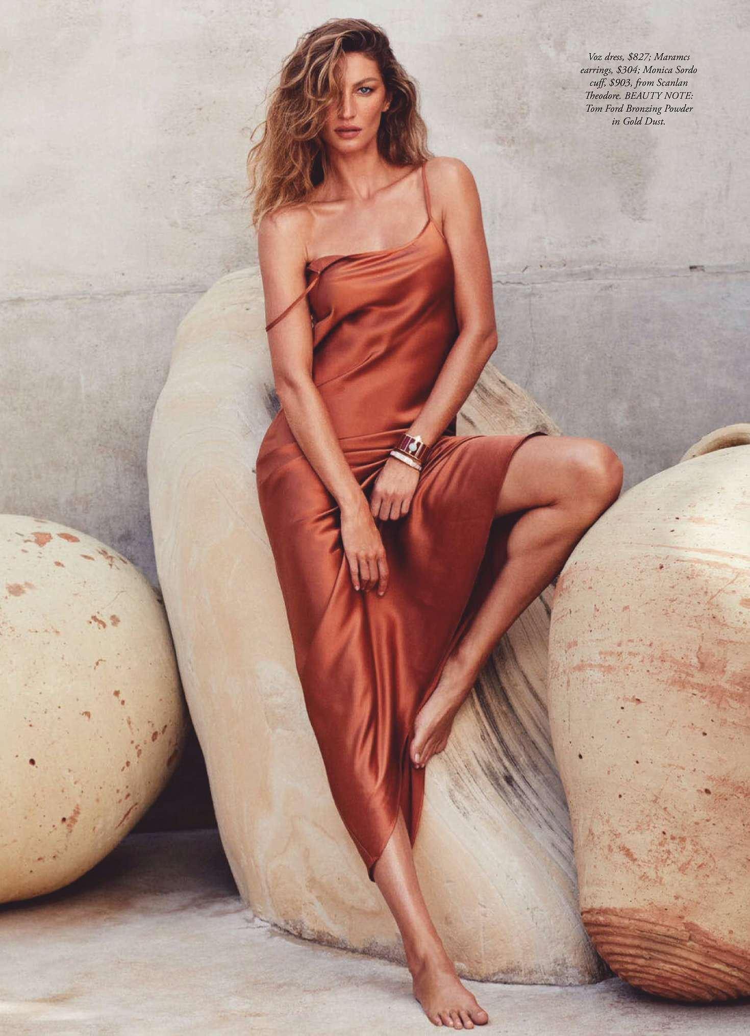Siêu mẫu đắt giá Gisele Bundchen khoe dáng tuyệt mỹ trên tạp chí Ảnh 5