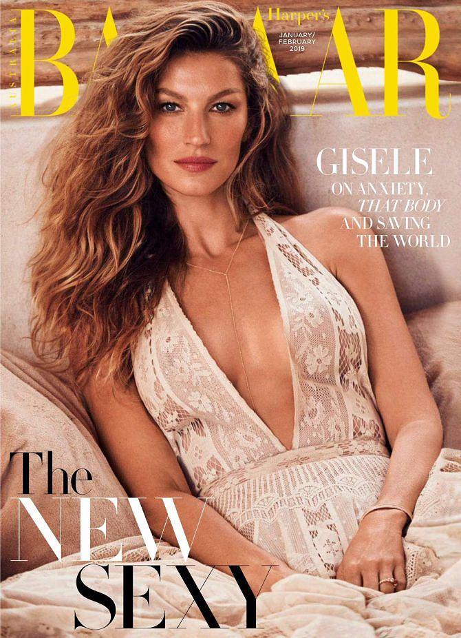 Siêu mẫu đắt giá Gisele Bundchen khoe dáng tuyệt mỹ trên tạp chí Ảnh 2