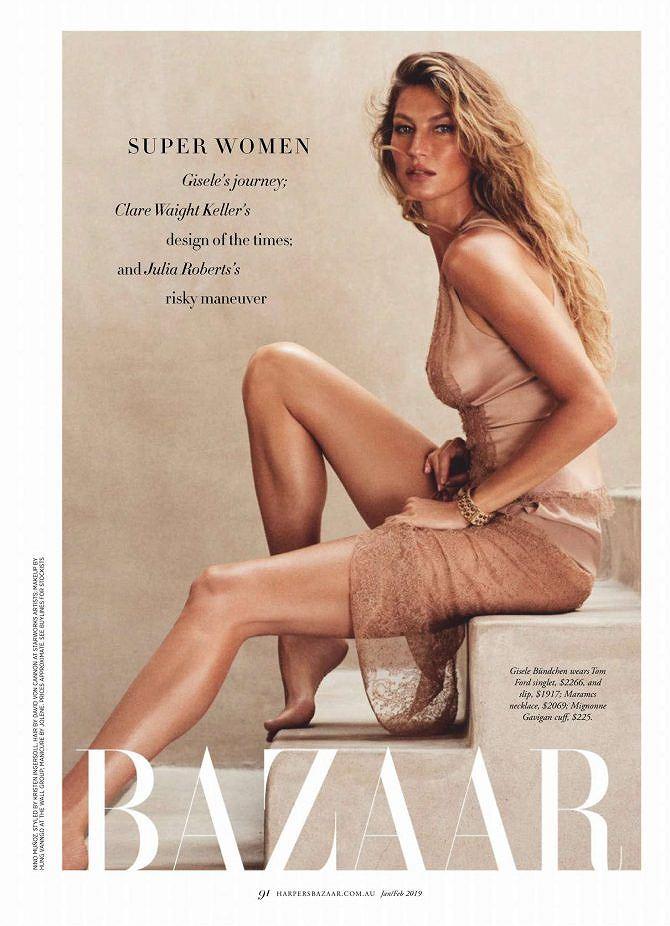 Siêu mẫu đắt giá Gisele Bundchen khoe dáng tuyệt mỹ trên tạp chí Ảnh 10