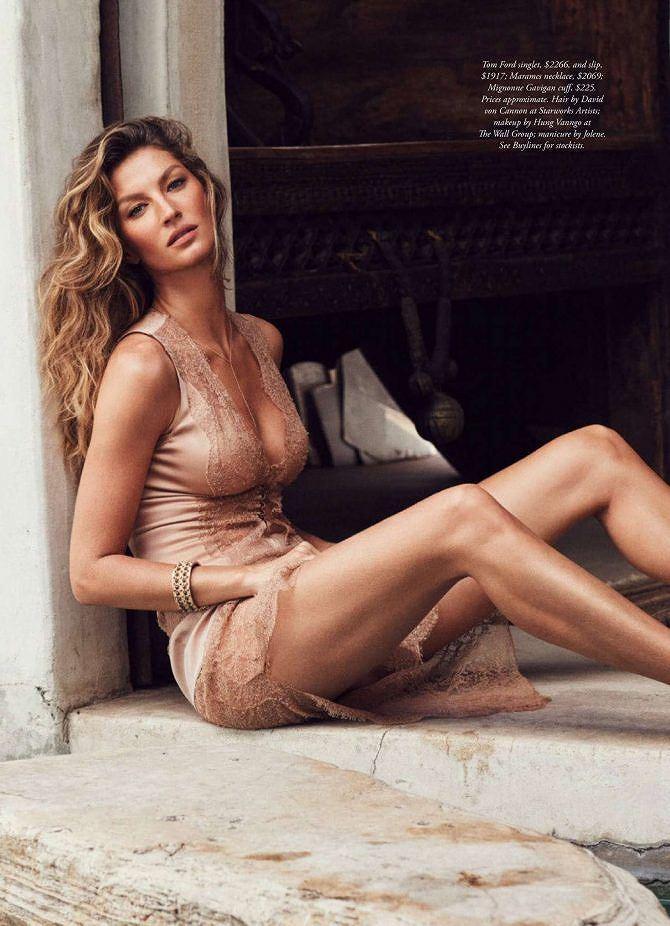 Siêu mẫu đắt giá Gisele Bundchen khoe dáng tuyệt mỹ trên tạp chí Ảnh 4
