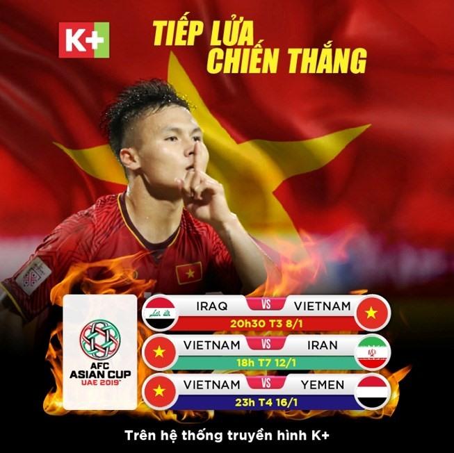 K+ thêm kênh mới để tiếp lửa cho đội tuyển Việt Nam Ảnh 1