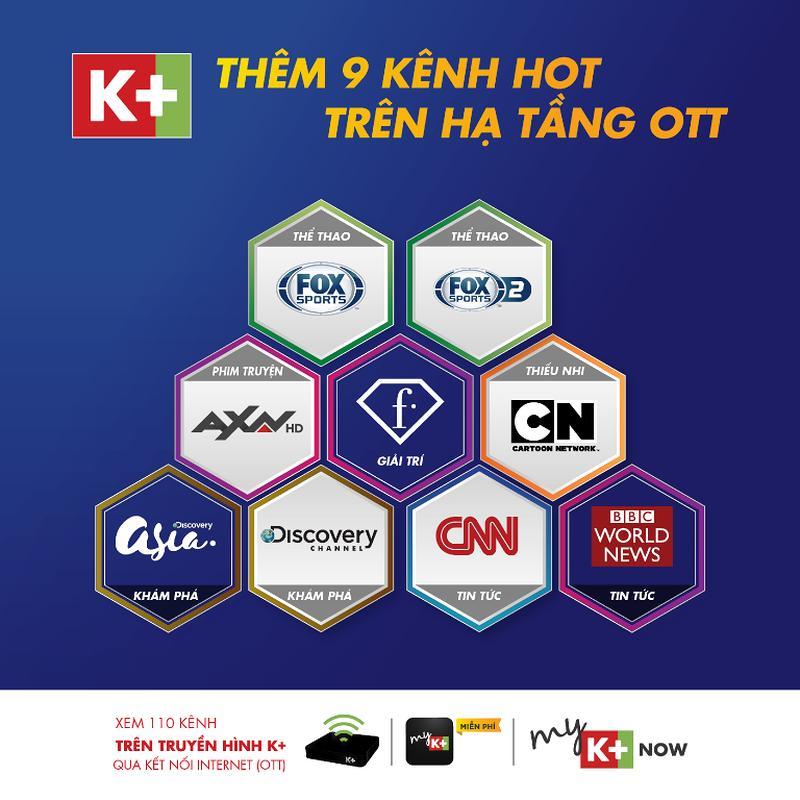 K+ thêm kênh mới để tiếp lửa cho đội tuyển Việt Nam Ảnh 2
