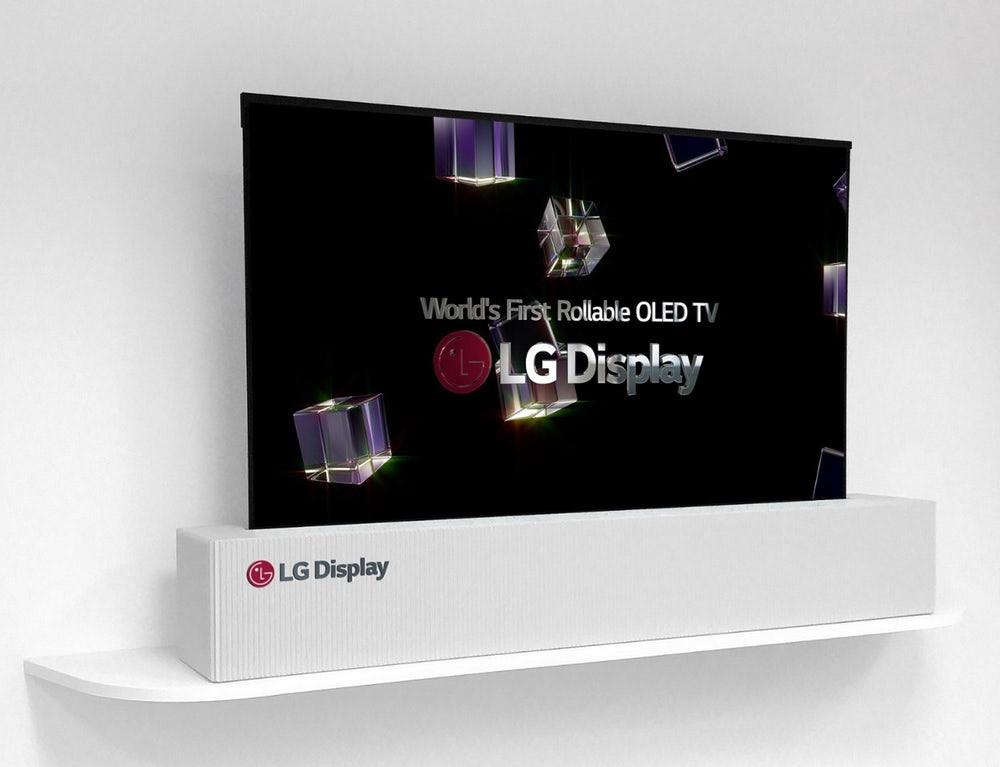 LG ra mắt TV 4K cuộn được, trình diễn màn hình 8K Ảnh 2