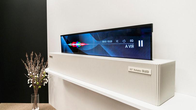 LG ra mắt TV 4K cuộn được, trình diễn màn hình 8K Ảnh 4