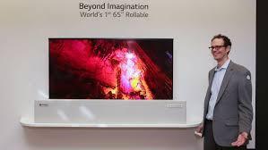 LG ra mắt TV 4K cuộn được, trình diễn màn hình 8K Ảnh 1