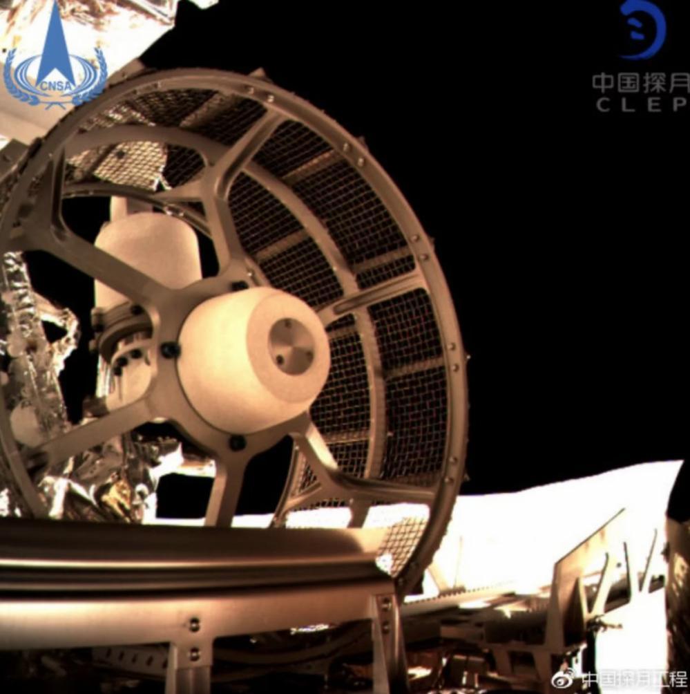 Hình ảnh mới nhất về sứ mệnh khám phá vùng tối Mặt Trăng của Trung Quốc Ảnh 2