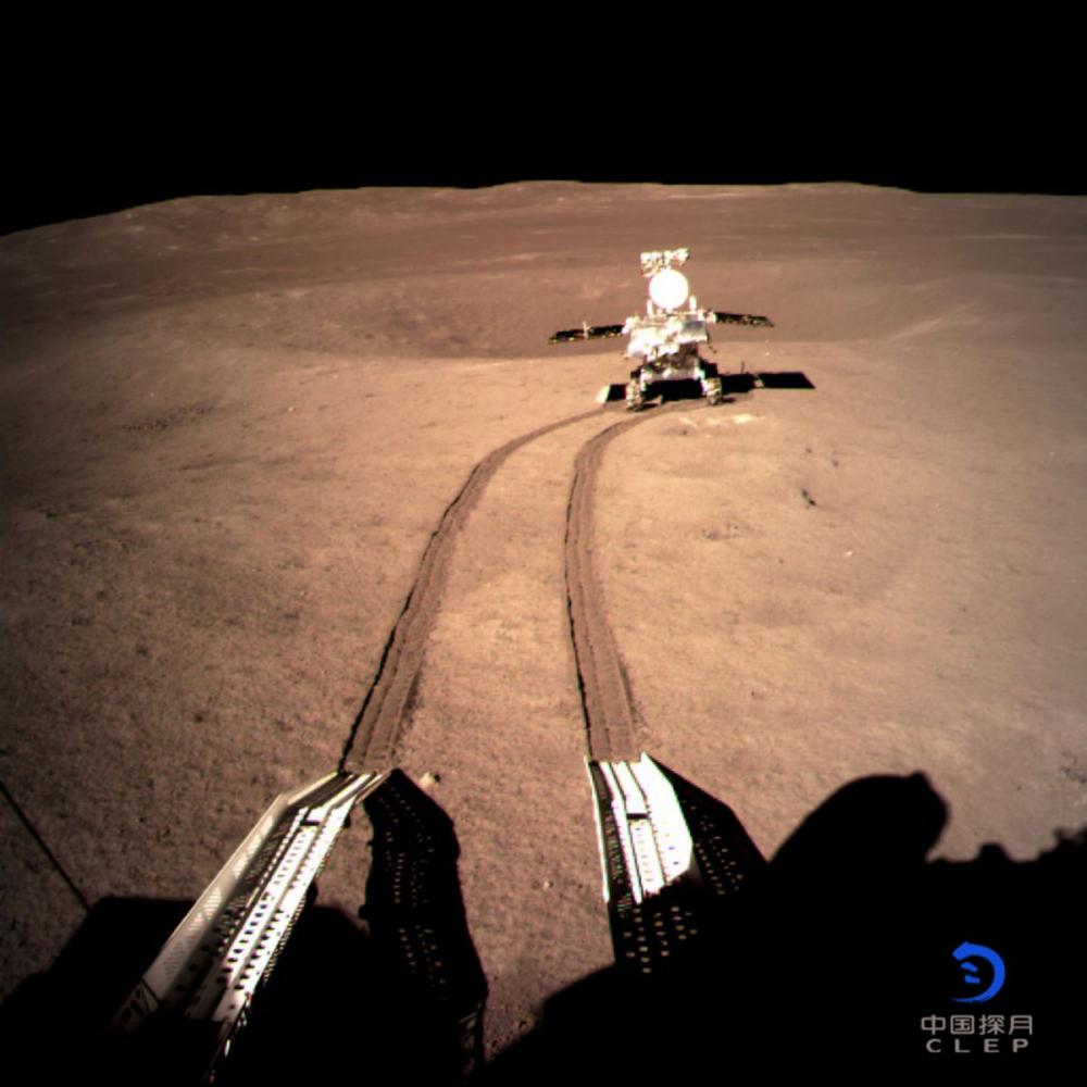 Hình ảnh mới nhất về sứ mệnh khám phá vùng tối Mặt Trăng của Trung Quốc Ảnh 1