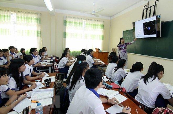 Đổi mới phương pháp hiện chỉ để diễn lúc thao giảng và thi giáo viên dạy giỏi Ảnh 1