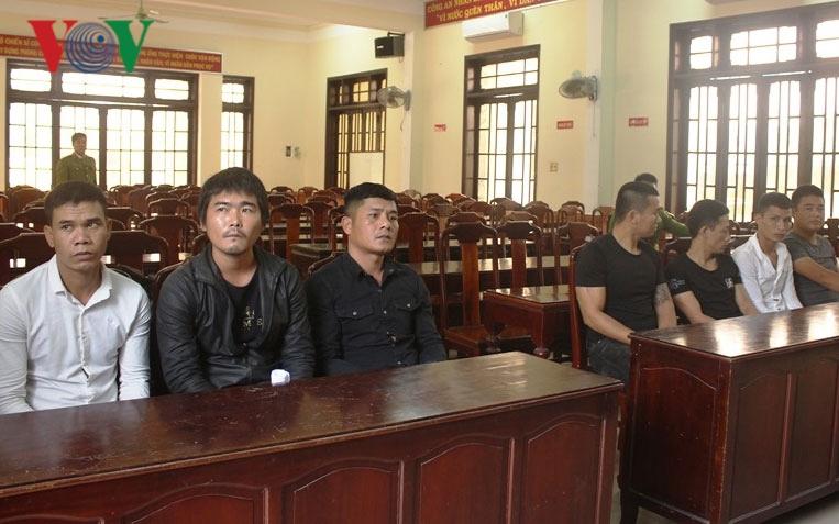 Khởi tố 9 đối tượng ở Thừa Thiên Huế dùng hung khí để hỗn chiến Ảnh 1