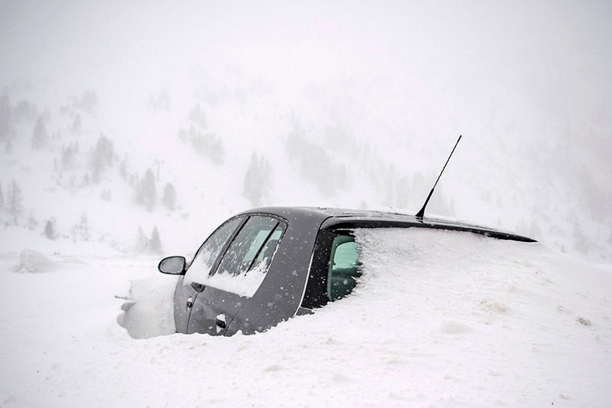 Mùa đông khắc nghiệt với tuyết rơi dày ở nhiều nơi trên thế giới Ảnh 5