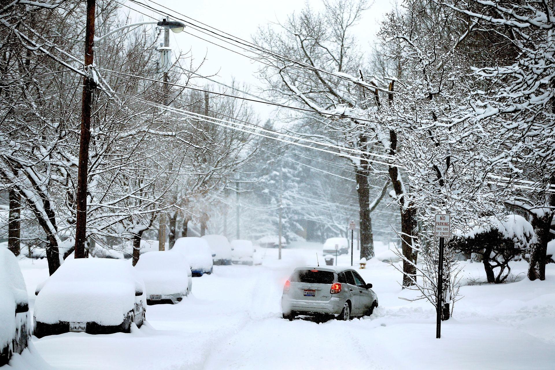 Mùa đông khắc nghiệt với tuyết rơi dày ở nhiều nơi trên thế giới Ảnh 19