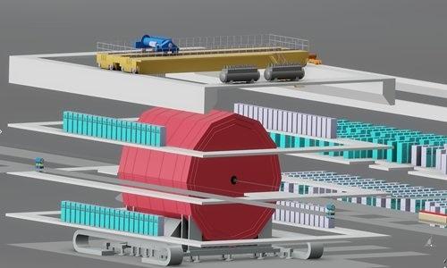 Trung Quốc xúc tiến dự án xây dựng máy ly tâm mạnh nhất thế giới Ảnh 1