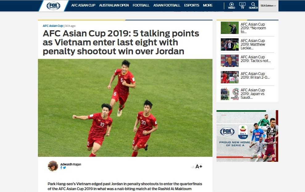 Truyền thông quốc tế khen ngợi Đội tuyển Việt Nam Ảnh 1