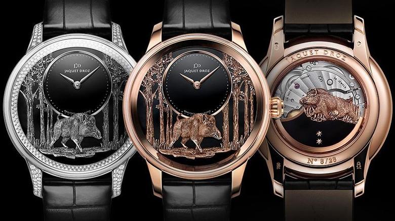 Ngắm những chiếc đồng hồ xa xỉ hình... heo chào mừng Tết Kỷ Hợi 2019 Ảnh 3