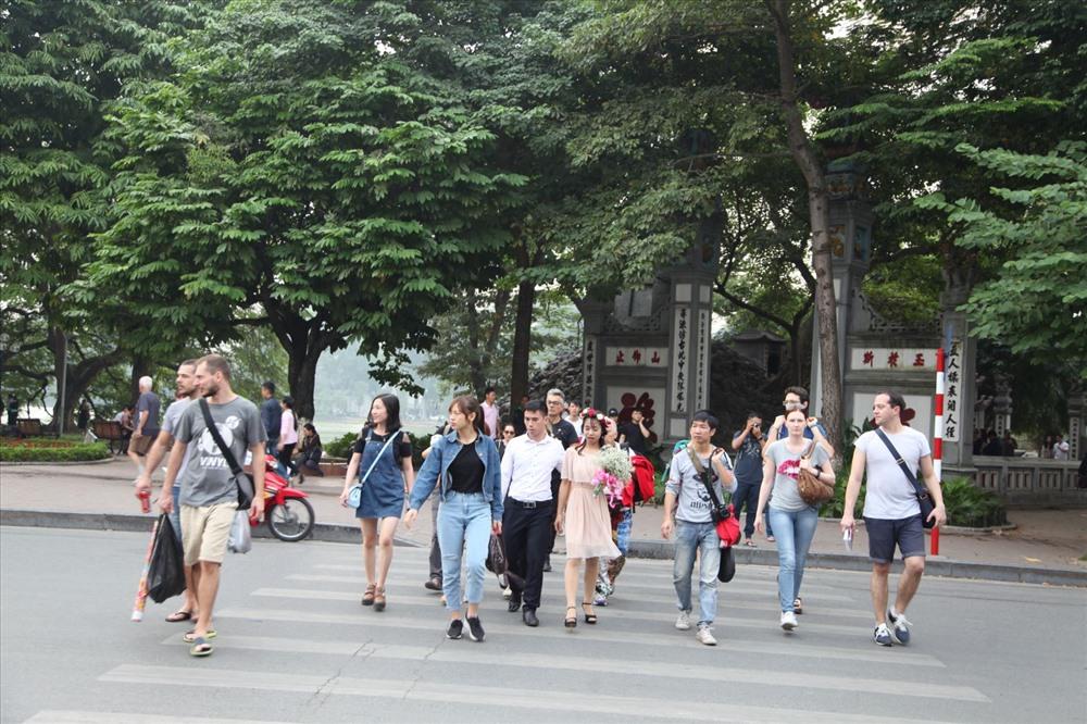 9 ngày nghỉ Tết Kỷ Hợi, Hà Nội đón gần 515.000 lượt khách Ảnh 1