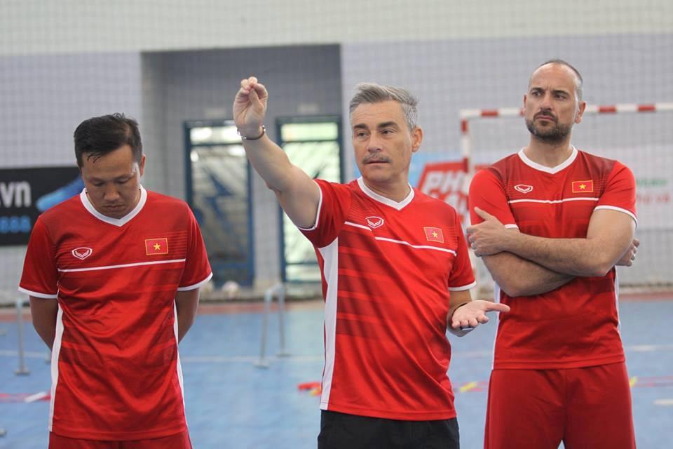 Tuyển futsal Việt Nam chuẩn bị tập huấn ở Tây Ban Nha Ảnh 1