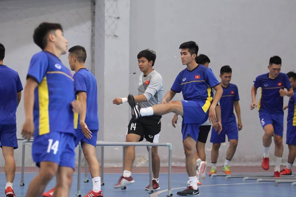 Tuyển futsal Việt Nam chuẩn bị tập huấn ở Tây Ban Nha Ảnh 4