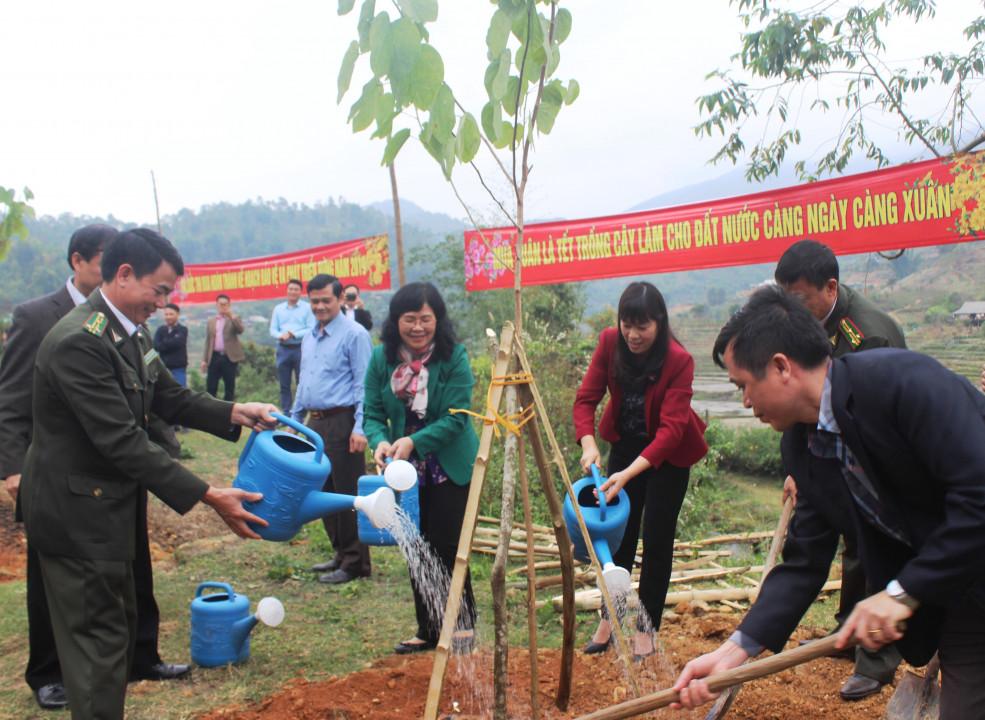 Điện Biên: Tổ chức Lễ Khai Xuân sản xuất nông, lâm nghiệp Ảnh 4