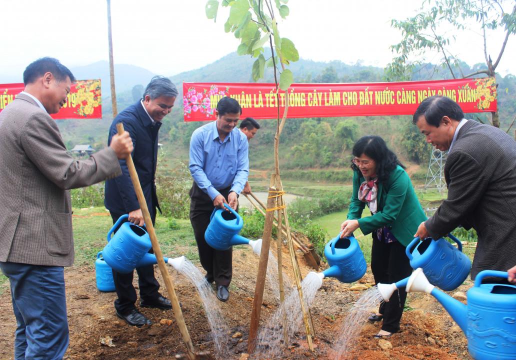 Điện Biên: Tổ chức Lễ Khai Xuân sản xuất nông, lâm nghiệp Ảnh 3