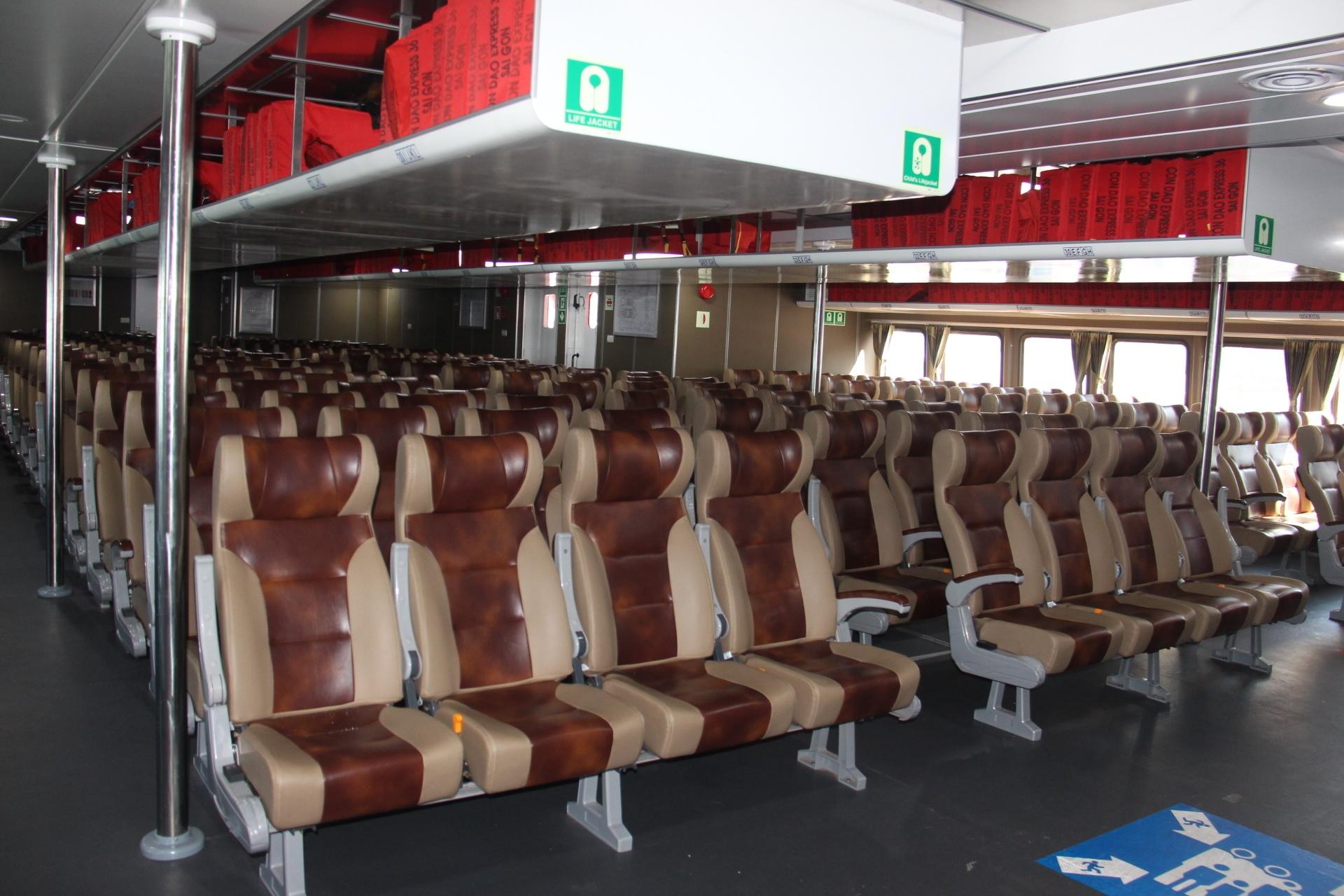 Bắt đầu khai thác tuyến tàu cao tốc Vũng Tàu - Côn Đảo Ảnh 7