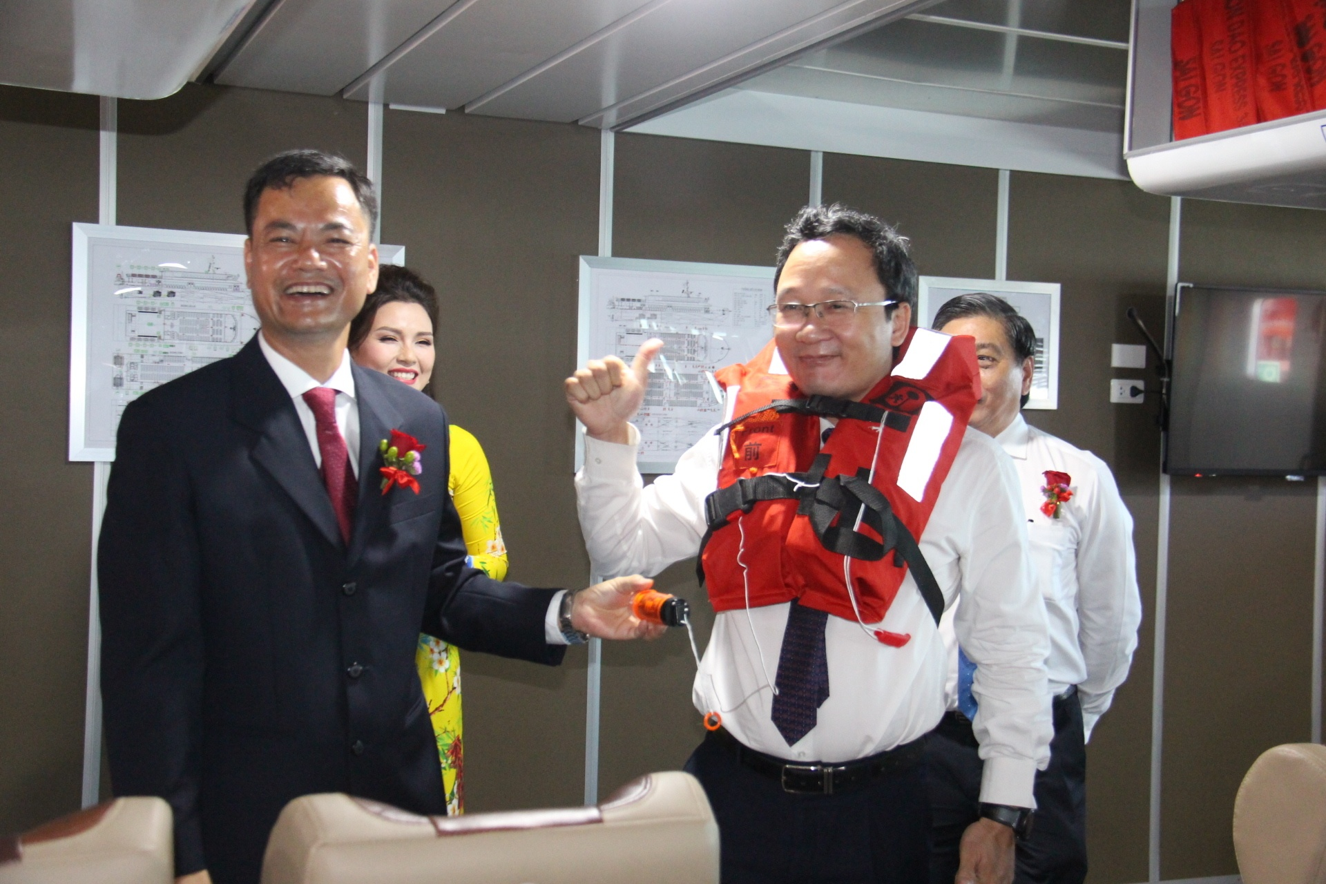 Bắt đầu khai thác tuyến tàu cao tốc Vũng Tàu - Côn Đảo Ảnh 3